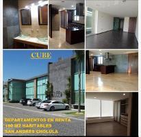 Foto de departamento en renta en el barreal 0, el barreal, san andrés cholula, puebla, 3984180 No. 01