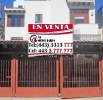 Foto de casa en venta en  , el monasterio, morelia, michoacán de ocampo, 4221182 No. 01