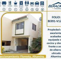 Foto de casa en venta en  , floresta, altamira, tamaulipas, 4250735 No. 01