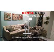 Foto de casa en renta en  , francisco de montejo, mérida, yucatán, 2717208 No. 01