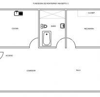 Foto de departamento en renta en fundidora monterrey 68 int5, industrial, gustavo a madero, df, 1037141 no 01