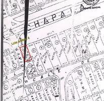 Foto de terreno habitacional en venta en gaviota y carretera lote 1 - manzana 4 , chapala haciendas, chapala, jalisco, 3732839 No. 01
