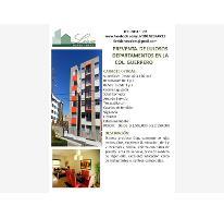 Foto de departamento en venta en  , guerrero, cuauhtémoc, distrito federal, 2508856 No. 01