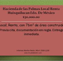 Foto de local en renta en  , hacienda de las palmas, huixquilucan, méxico, 2634758 No. 01