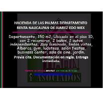 Foto de departamento en renta en  , hacienda de las palmas, huixquilucan, méxico, 2793878 No. 01
