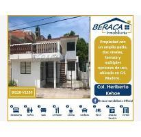 Foto de casa en venta en  , heriberto kehoe, ciudad madero, tamaulipas, 2998464 No. 01