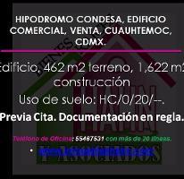 Foto de edificio en venta en  , hipódromo condesa, cuauhtémoc, distrito federal, 3313415 No. 01