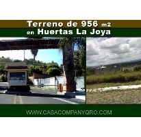 Foto de terreno habitacional en venta en huertas la joya , huertas la joya, querétaro, querétaro, 2831668 No. 01