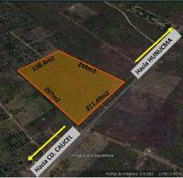 Foto de terreno habitacional en venta en  , hunucmá, hunucmá, yucatán, 3675303 No. 01