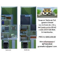 Foto de casa en venta en  , ignacio allende, culiacán, sinaloa, 1553544 No. 01