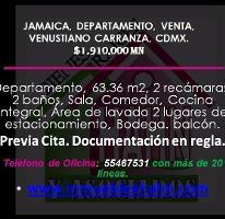 Foto de departamento en venta en  , jamaica, venustiano carranza, distrito federal, 3957142 No. 01