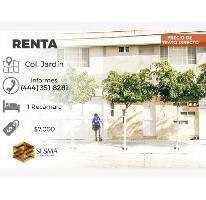 Foto de departamento en renta en  , jardín, san luis potosí, san luis potosí, 2456619 No. 01