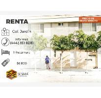 Foto de departamento en renta en  , jardín, san luis potosí, san luis potosí, 2776166 No. 01