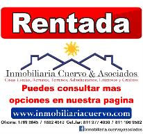 Foto de casa en renta en  , jardines de andalucía, guadalupe, nuevo león, 2625942 No. 01