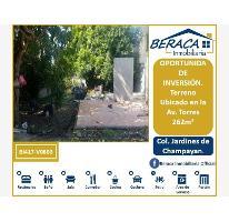 Foto de terreno habitacional en venta en  , jardines de champayan 1, tampico, tamaulipas, 2925114 No. 01