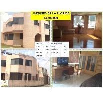 Foto de casa en venta en, jardines de la florida, naucalpan de juárez, estado de méxico, 1705936 no 01