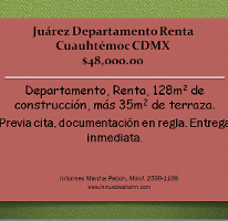 Foto de departamento en renta en  , juárez, cuauhtémoc, distrito federal, 1460643 No. 01