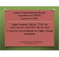 Foto de departamento en renta en  , juárez, cuauhtémoc, distrito federal, 2206308 No. 01
