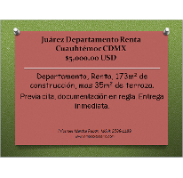 Foto de departamento en renta en, juárez, cuauhtémoc, df, 2206308 no 01