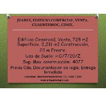 Foto de edificio en venta en  , juárez, cuauhtémoc, distrito federal, 2630432 No. 01