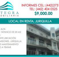Foto de local en renta en, jurica acueducto, querétaro, querétaro, 2119400 no 01