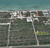 Foto de terreno habitacional en venta en kilometro 26, 6 carretera progreso-telchac , playa san benito , chicxulub puerto, progreso, yucatán, 3513751 No. 01