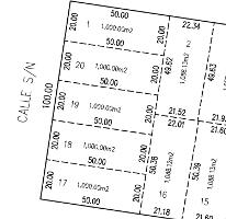Foto de terreno habitacional en venta en  , komchen, mérida, yucatán, 2600424 No. 01
