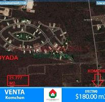 Foto de terreno habitacional en venta en  , komchen, mérida, yucatán, 3089810 No. 01