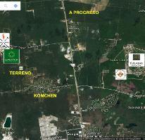 Foto de terreno habitacional en venta en  , komchen, mérida, yucatán, 3775675 No. 01