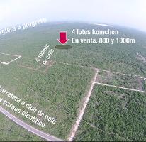 Foto de terreno habitacional en venta en  , komchen, mérida, yucatán, 3980497 No. 01