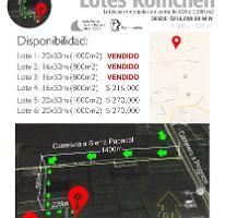 Foto de terreno habitacional en venta en  , komchen, mérida, yucatán, 4290352 No. 01