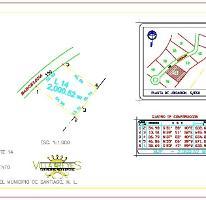 Foto de terreno habitacional en venta en  , la boca, santiago, nuevo león, 3875594 No. 01