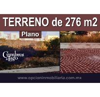 Foto de terreno habitacional en venta en  , cumbres del lago, querétaro, querétaro, 2830543 No. 01