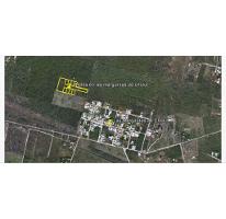 Foto de terreno habitacional en venta en  , las margaritas de cholul, mérida, yucatán, 1737918 No. 01