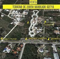 Foto de terreno habitacional en venta en libramiento mérida-dzitya junto a samsara , dzitya, mérida, yucatán, 4228921 No. 01
