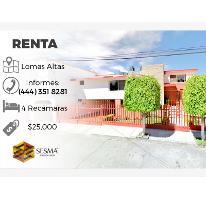 Foto de casa en renta en  , loma alta, san luis potosí, san luis potosí, 2191147 No. 01