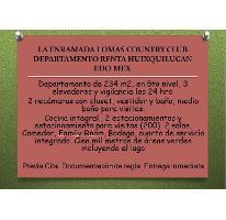 Foto de departamento en renta en  , lomas country club, huixquilucan, méxico, 2530998 No. 01