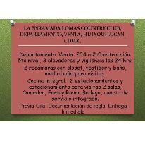 Foto de departamento en venta en  , lomas country club, huixquilucan, méxico, 2620459 No. 01