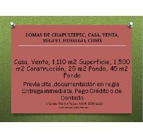 Foto de casa en venta en  , lomas de chapultepec v sección, miguel hidalgo, distrito federal, 2636553 No. 01