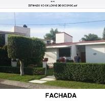 Foto de casa en venta en  , lomas de cocoyoc, atlatlahucan, morelos, 1062751 No. 01
