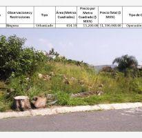 Foto de terreno habitacional en venta en lomas de cocoyoc, lomas de cocoyoc, atlatlahucan, morelos, 1401525 no 01