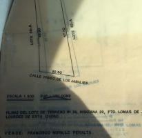 Foto de terreno habitacional en venta en, lomas de lourdes, saltillo, coahuila de zaragoza, 2052096 no 01