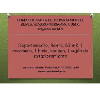 Foto de departamento en renta en  , lomas de santa fe, álvaro obregón, distrito federal, 2516762 No. 01