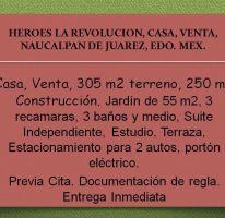 Foto de casa en venta en, lomas del huizachal, naucalpan de juárez, estado de méxico, 2386820 no 01