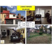Foto de casa en venta en  , lomas verdes (conjunto lomas verdes), naucalpan de juárez, méxico, 2813485 No. 01