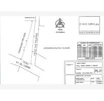 Foto de terreno habitacional en venta en calle las palomas, plan de ayala, tuxtla gutiérrez, chiapas, 2222004 no 01