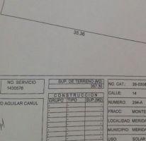 Foto de terreno habitacional en venta en, montebello, mérida, yucatán, 2440260 no 01