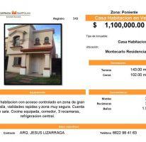 Foto de casa en venta en, montecarlo, hermosillo, sonora, 2220486 no 01