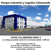 Foto de nave industrial en renta en  nd, calamanda, el marqués, querétaro, 754151 No. 01