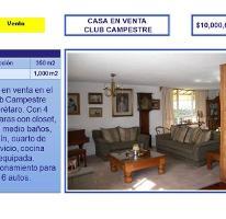 Foto de casa en venta en club de golf campestre nd, club campestre, querétaro, querétaro, 754195 No. 01